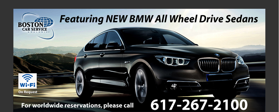 2013 BMW Sedans at Boston Car Service